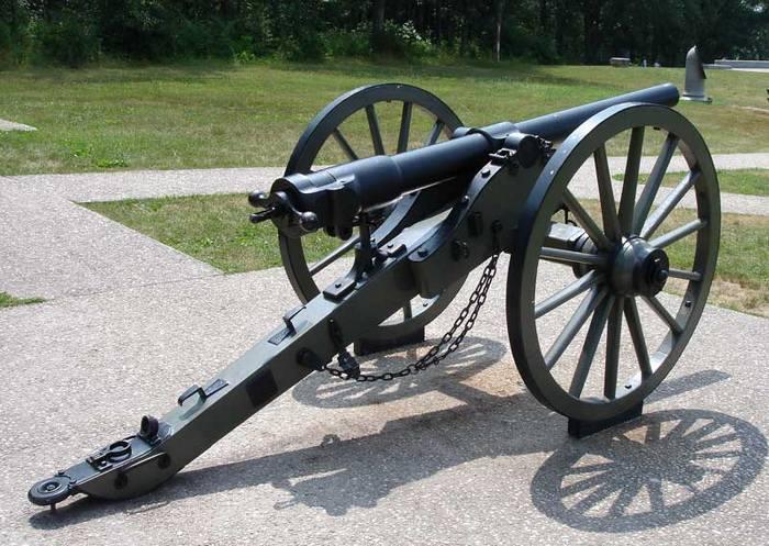 пушка системы Уитворта