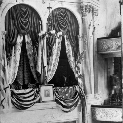 президентская ложа в театре Форда