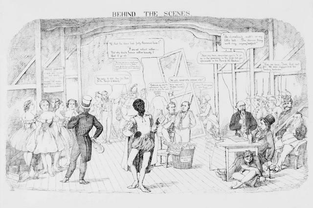 Behind the Scenes; 1864